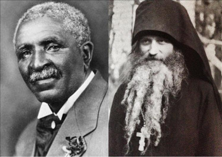 Dr. George Washington Carver and Fr. Seraphim Rose.