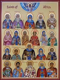Sanderson African saints