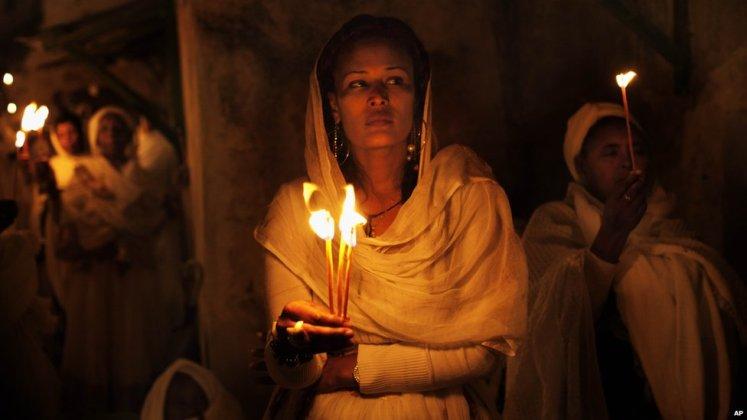 Ethiopian nun one