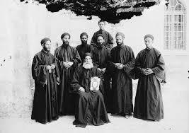 monks b & w