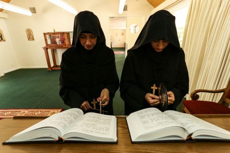 coptic nuns